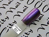 Гель лак Хамелеон сине-фиолетовый блестящий (сливовый, баклажан) 10мл