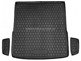 Резиновый коврик багажника  Volkswagen Passat B7 2010- (универсал) Avto-Gumm