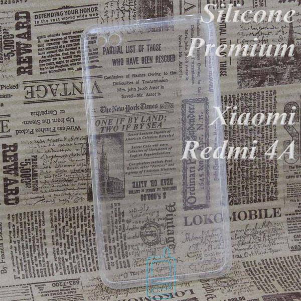 Чехол силиконовый Premium Xiaomi Redmi 4A прозрачный
