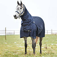 B Vertigo Georgina Turnout Blanket Waterproof Oversized Tail Flap Neck Piece