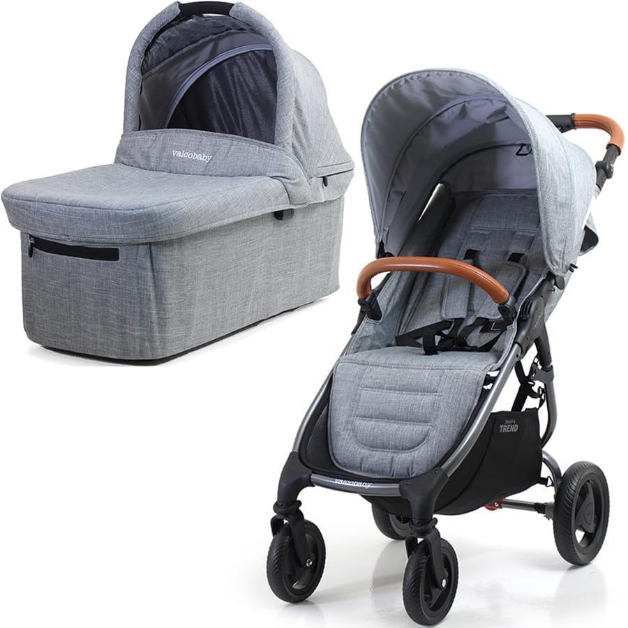 Универсальная детская коляска 2 в 1 Valco Baby Snap 4 Trend Grey Marle