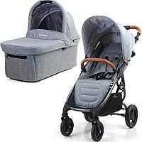 Универсальная детская коляска 2 в 1 Valco Baby Snap 4 Trend Grey Marle, фото 1