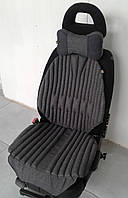 Ортопедическая био подушка - чехол на авто кресло и подголовник EKKOSEAT. Универсальная.