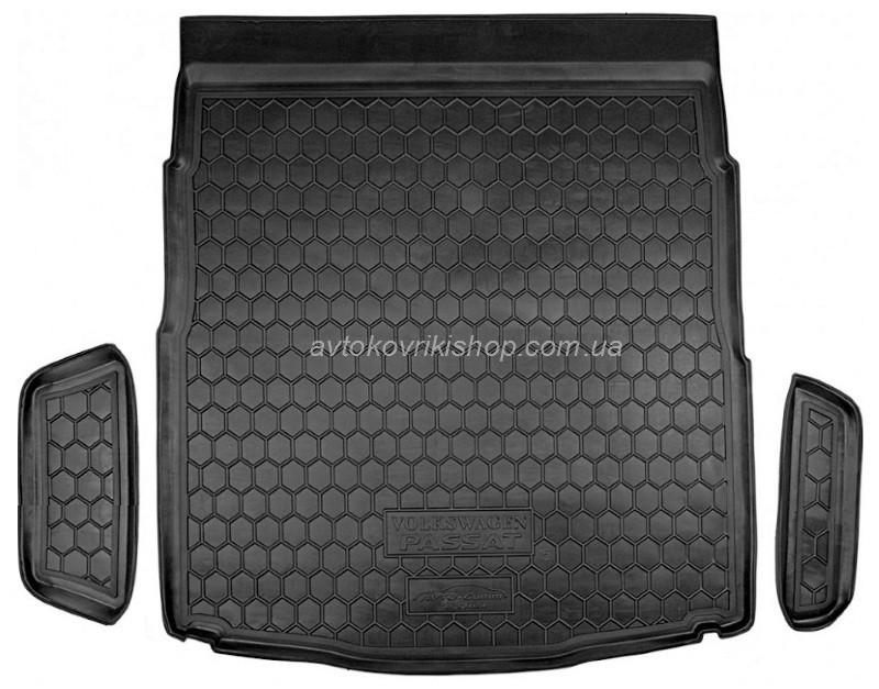 Резиновый коврик багажника  Volkswagen Passat B8 2014- (седан) Avto-Gumm
