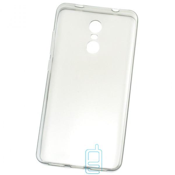 Чехол силиконовый Premium Xiaomi Redmi Note 4x затемненный