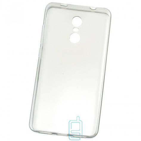 Чехол силиконовый Premium Xiaomi Redmi Note 4x затемненный, фото 2