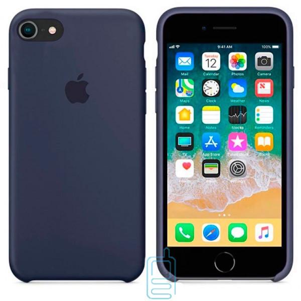 Чехол Silicone Case Apple iPhone 6. 6S темно-синий 08