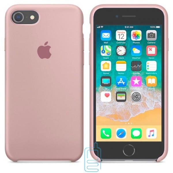 Чехол Silicone Case Apple iPhone 7. 8 светло-сиреневый 07