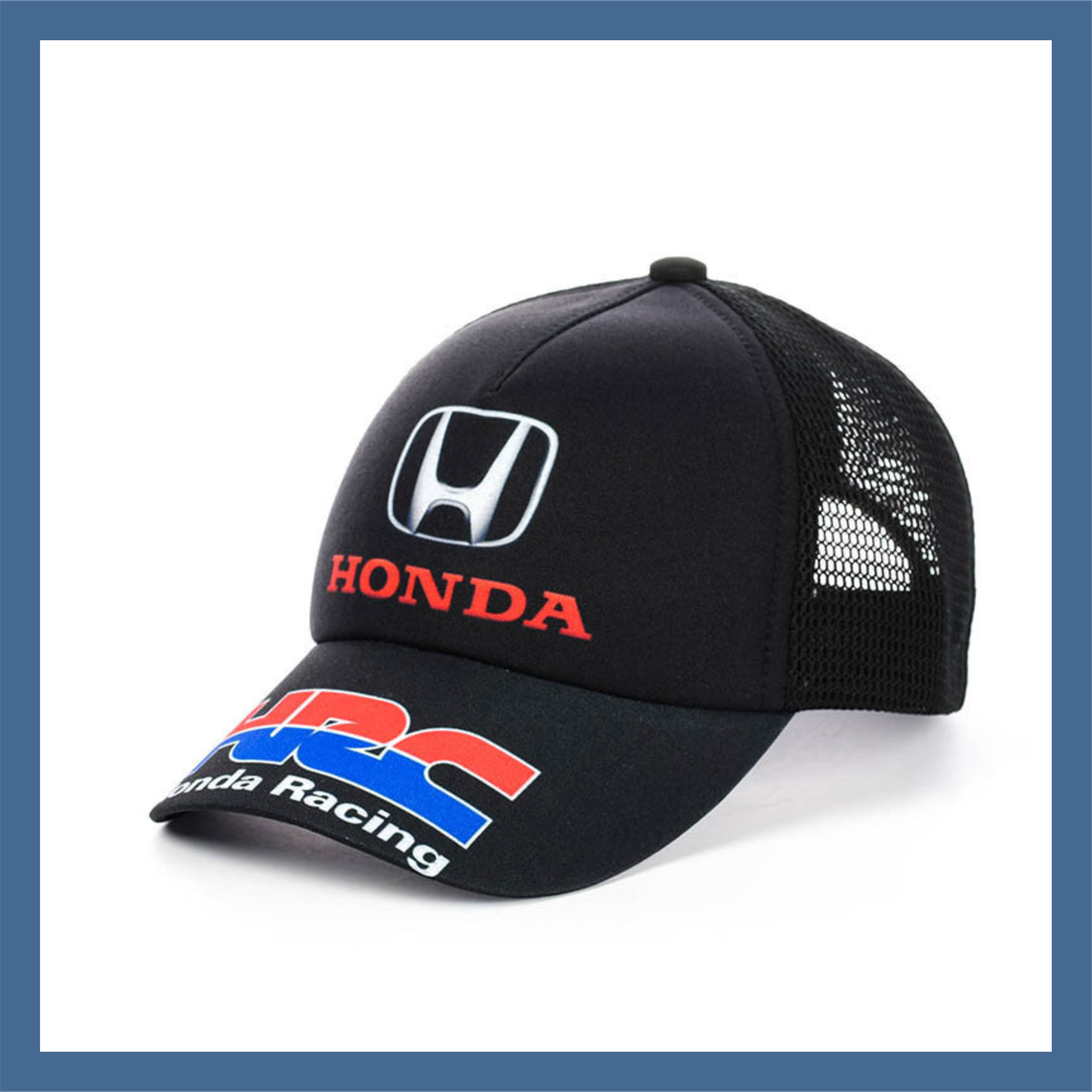 """Кепка- бейсболка с сеткой """"Honda"""""""
