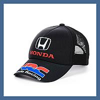 "Кепка- бейсболка с сеткой ""Honda"", фото 1"