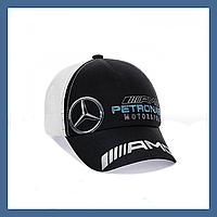 """Кепка- бейсболка с сеткой """"Mercedes"""", фото 1"""