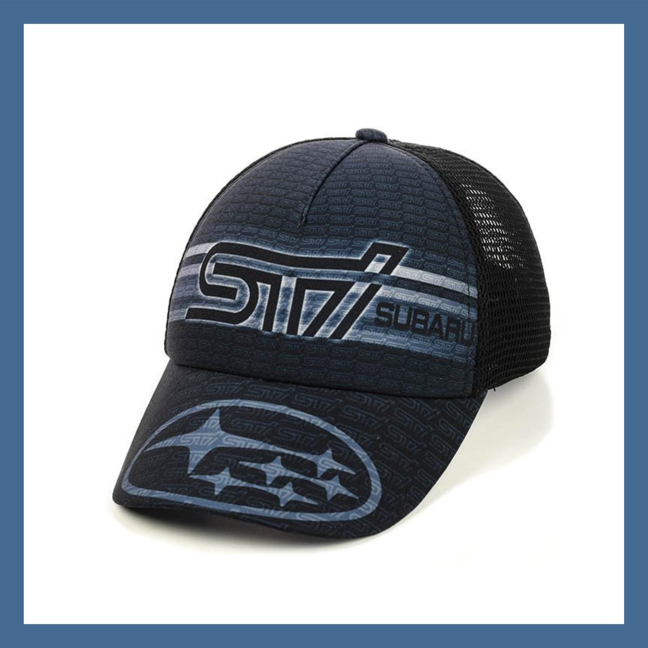 """Кепка- бейсболка  """"Subaru"""" с сеткой"""