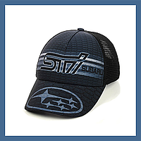 "Кепка- бейсболка  ""Subaru"" с сеткой, фото 1"