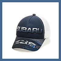 """Кепка- бейсболка  """"Subaru"""" с белой сеткой, фото 1"""