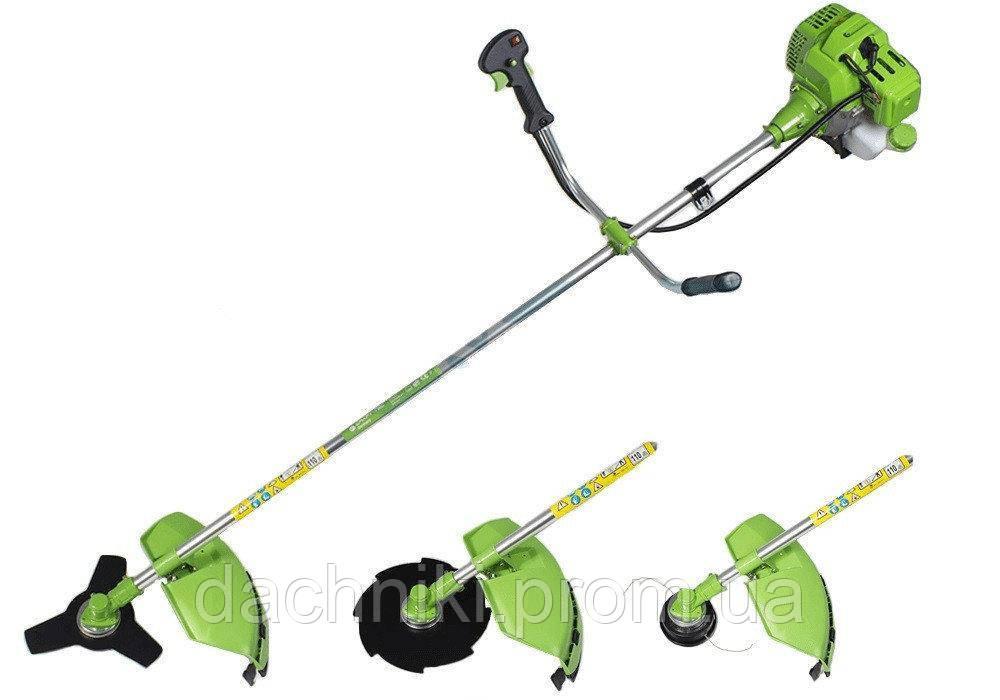 Бензокоса Craft-tec 4400W (1 нож/40z+1шпуля+рюкзак)
