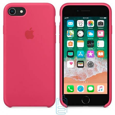 Чехол Silicone Case Apple iPhone 5. 5S бордовый 37, фото 2