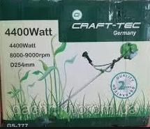 Бензокоса Craft-tec 4400W (1 нож/40z+1шпуля+рюкзак), фото 3