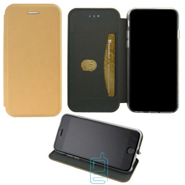 Чехол-книжка Elite Case Huawei Honor 7A Pro. 7C. Y6 Prime 2018. Y6 2018 золотистый