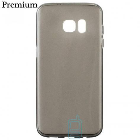 Чехол силиконовый Premium Samsung S7 G930 затемненный, фото 2