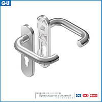 Нажимной гарнитур RONDO 45/72 (нержавеющая сталь)