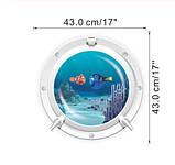 "Наклейка для дома ""Nemo"" - диаметр наклейки 43см, фото 2"