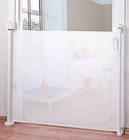 Барьерка Caretero для двери тканевая (white)