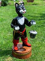 """Садова фігура """"Кіт у чоботях"""" Н-75см, фото 1"""