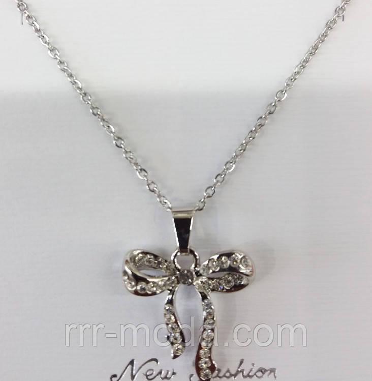 Мини кулоны кристаллы, женская кулон- подвеска 296