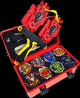 Набор бейблейд Beyblade Box 8 шт. бейблейд бокс, серия Красный Дракон