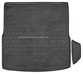 Резиновый коврик багажника  Volkswagen Golf VI 2008- (универсал) Avto-Gumm