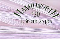 Проволока белая Hamilworth №20