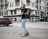 Рюкзак чоловічий міської шкіряний TRIGGER wlkr, фото 2