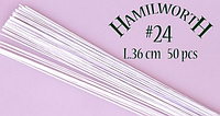 Проволока белая Hamilworth №24