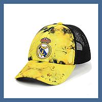 """Кепка- бейсболка """"Real Madrid"""" с черной сеткой, фото 1"""