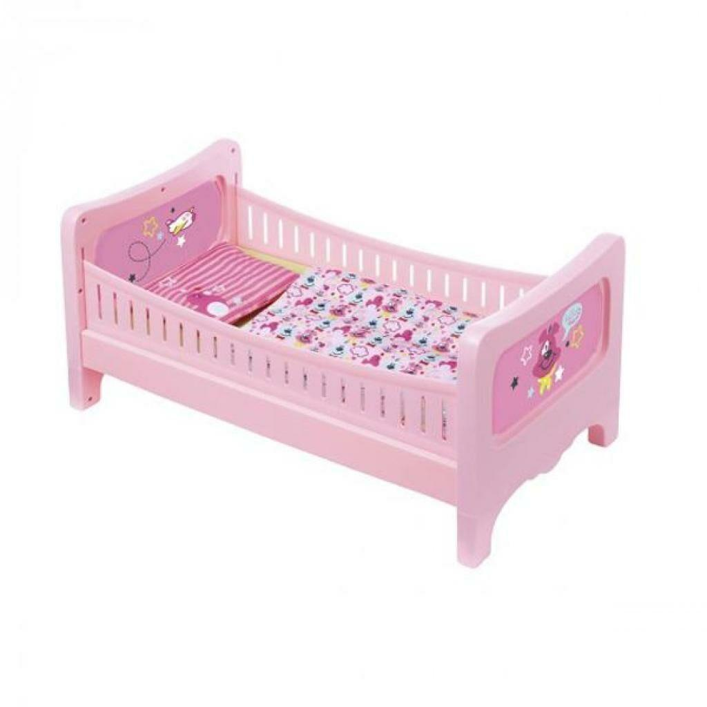 Аксессуар к кукле Zapf кроватка Сладкие сны (824399)