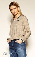 Блуза Trilly Zaps гірчичного кольору., фото 1