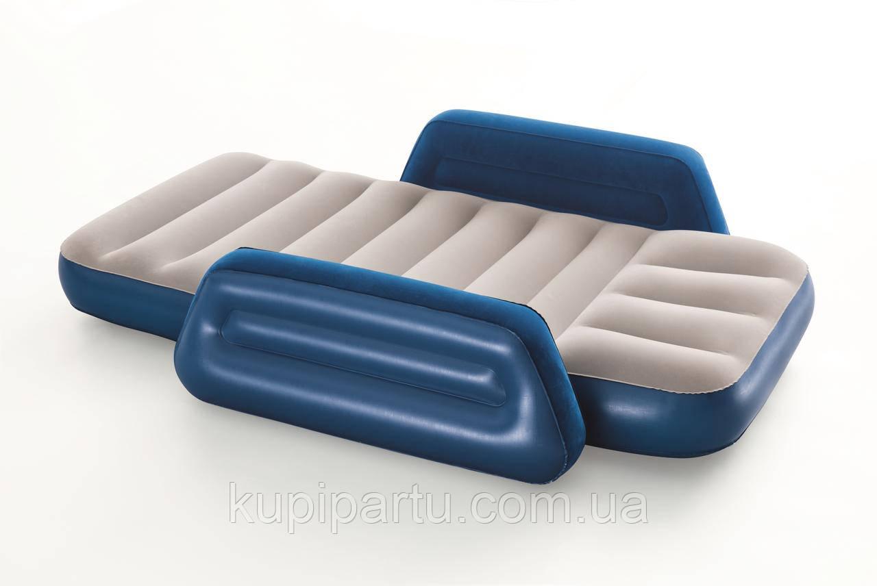 Bestway 67602 Надувна ліжко дитяче з бічною підтримкою 145х76х18 см, від 3 до 6 років