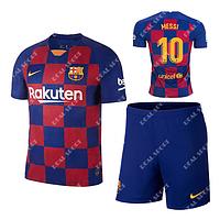 Детская футбольная форма Барселона 2019-2020 Месси Основная