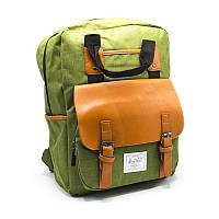 Городской рюкзак leather pocket, фото 1