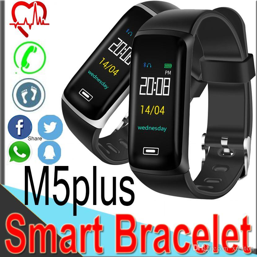 Фитнес браслет M5 plus (Smart Band) Умный браслет Фитнес трекер