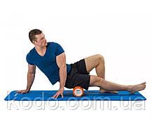 Массажный ролик (роллер UForce 33х14см) валик масажный для фитнеса йоги и пилатеса, фото 3