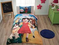 Комплект постельного белья ТАС Heidi ранфорс 160-220, фото 1