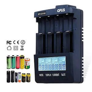 Opus BT C3100 V2.2 - інтелектуальне універсальний зарядний для Ni-Cd/Ni-Mh і Li Ion акумуляторів.