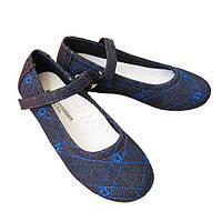 Туфли джинсовые Шалунишка девочке (р.31,32,34)