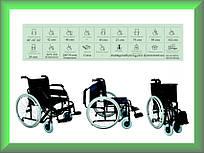 Коляска инвалидная, для людей с большим весом, без двигателя Golfi Golfi-14
