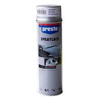 Акриловая аэрозольная спрей-краска Presto Алюминий  для дисков Серебро 500мл