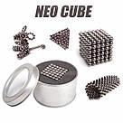 Конструктор головоломкаNeocube неокуб 216 неодимовых шариков по 5 мм в боксе магнитный нео куб Neo Cube, фото 2