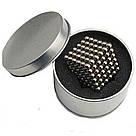 Конструктор головоломкаNeocube неокуб 216 неодимовых шариков по 5 мм в боксе магнитный нео куб Neo Cube, фото 3