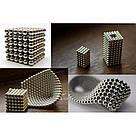 Конструктор головоломкаNeocube неокуб 216 неодимовых шариков по 5 мм в боксе магнитный нео куб Neo Cube, фото 4