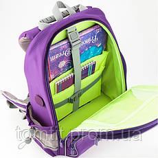 """Комплект. Рюкзак школьный Smart K19-702M-2 (фиолетовый) + пенал + сумка, ТМ """"Kite"""", фото 2"""